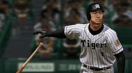 最終アプデ版・鎖国ペナント阪神2018年野手成績プロスピ2015