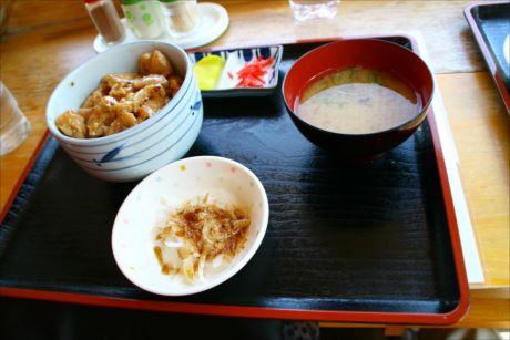 鶏丼in道の駅しらたき (6)_R