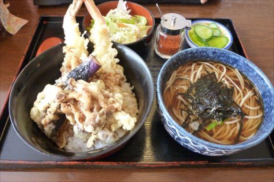 天丼+そばinレストラン若葉 (11)_R