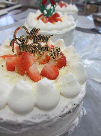 西小デイ教室 ケーキ