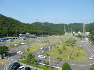 20151218三田洞自動車学校_場内