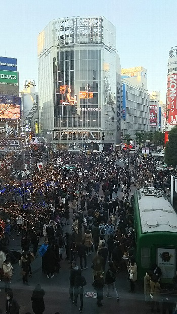 渋谷の師走