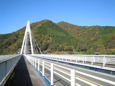 丹沢湖にかかる橋