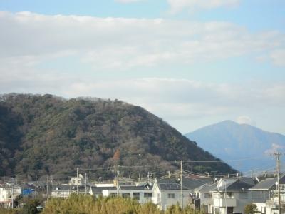 高麗山と大山1230