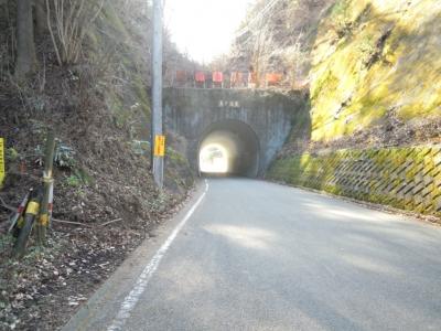 奥野隧道160102