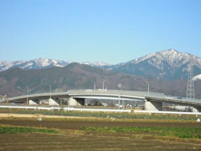 うっすら雪の大山160119