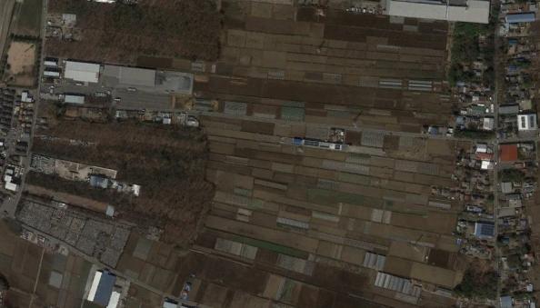 新田集落の写真
