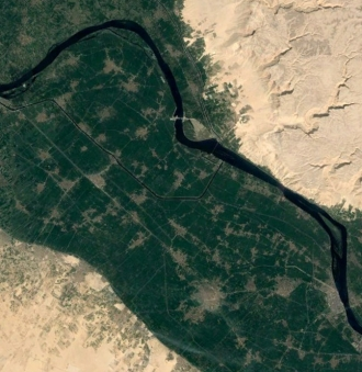 ナイル川周辺