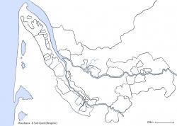 ボルドー全域白地図