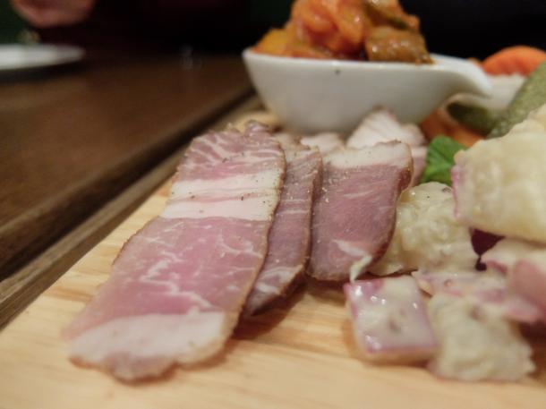 イベリコ豚の燻製