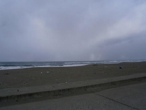 2月の海岸