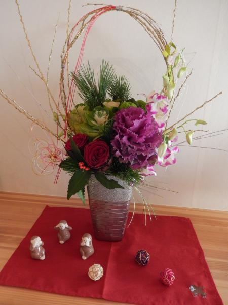 平成28年 お正月の花#2