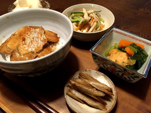 Nov05_豚肉丼