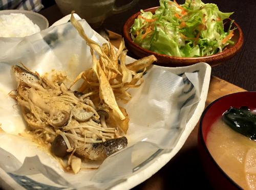 Nov18_目鯛の味噌バター風味
