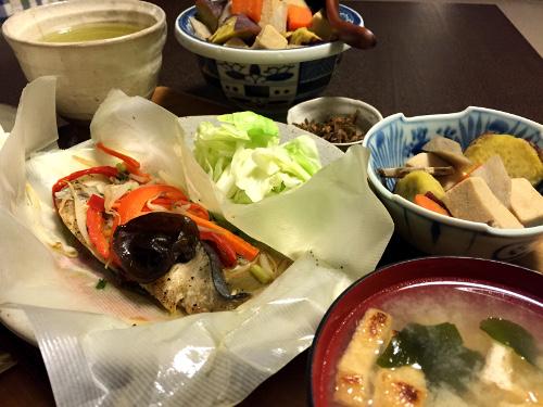 Nov25_さわらの野菜包み焼き
