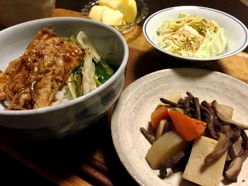 Dec04_豚肉と長葱丼
