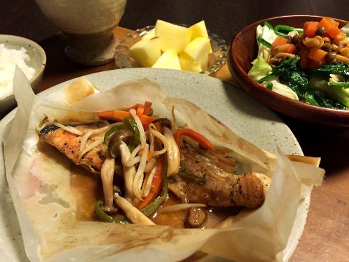 Dec11_銀鮭のバター包み焼き