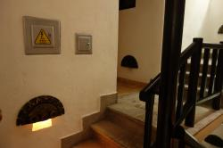 マチュピチュのホテル階段