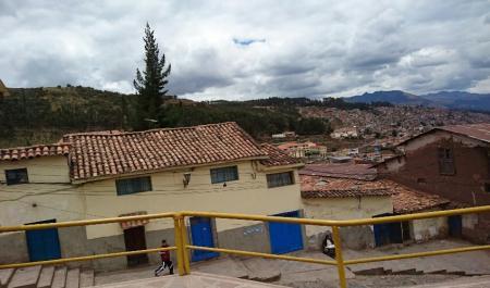 ペルー日干しレンガの街並み