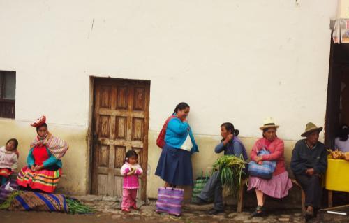 ペルーの人々