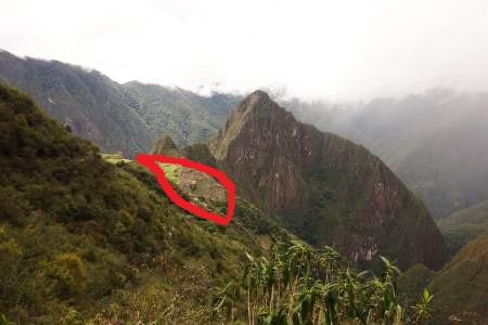 インカ道を上る