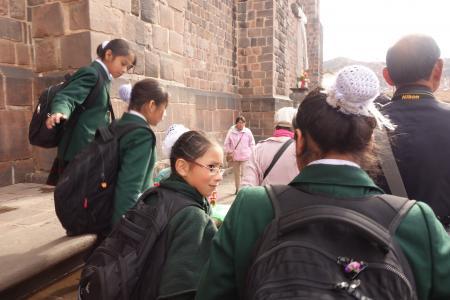 クスコの中学生2