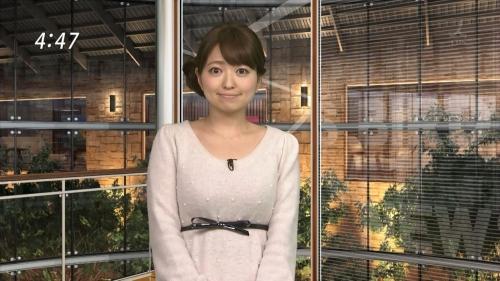 福岡良子 悩殺警報! パンチラで注目されるFカップお天気アナ