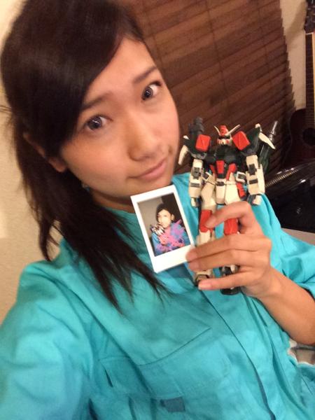 ガンダムオタクの元AKB48森川彩香が作ったガンプラをヤフオク出品 : さすがにチェンジなしだろ