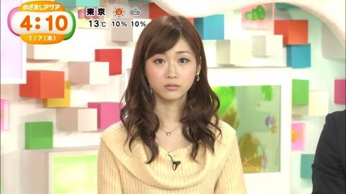 めざましテレビアクアの牧野結美アナ(25)がますます色っぽくなる