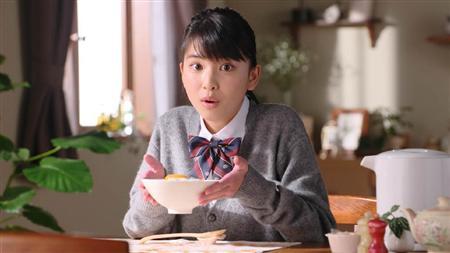 現役女子高校生・木下彩音が制服姿でCMデビュー