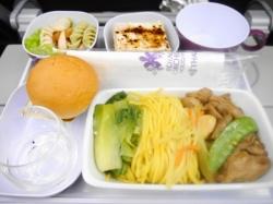 タイ航空機内食 チキン