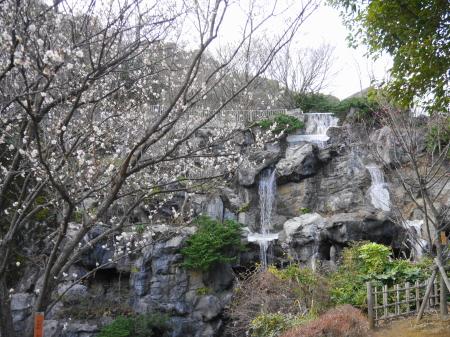 熱海梅園 滝