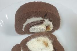 ティラミスのロールケーキ02