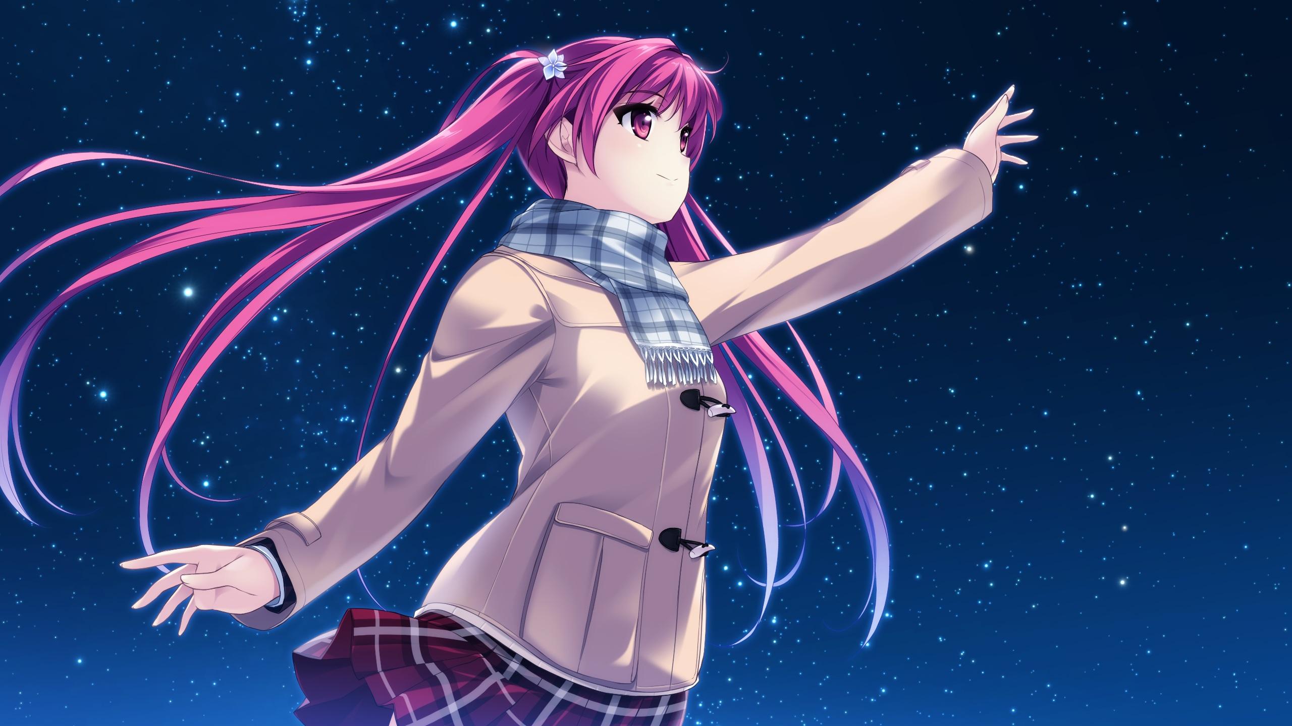 見上げてごらん、夜空の星をCG