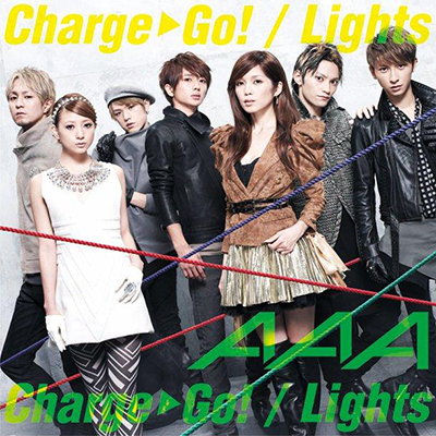 AAA「Charge & Go!/Lights」(DVD付)【ジャケットA】