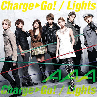 AAA「Charge & Go!/Lights」(DVD付)【ジャケットB】