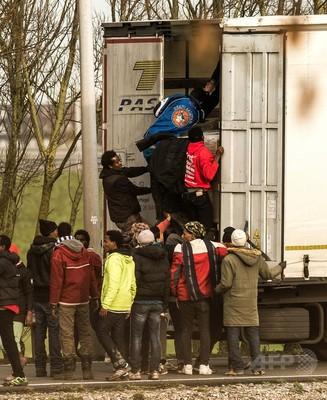 英仏海峡 移民の侵入1