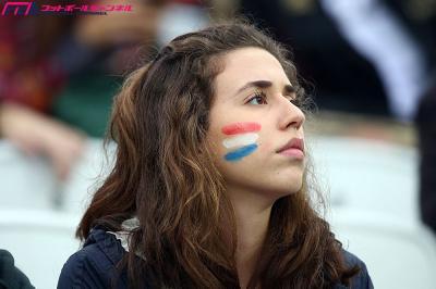 オランダ 美女 サポーター1