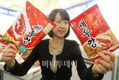 かっぱえびせん 中国の韓国パクリ パクった事すら忘れるアホ