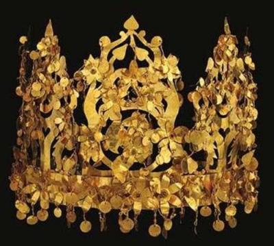 アフガン金冠