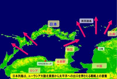 地政学 日本列島