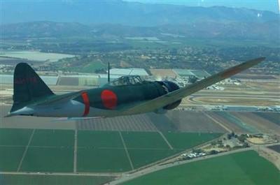 零戦22型 復元 ニューギニア1