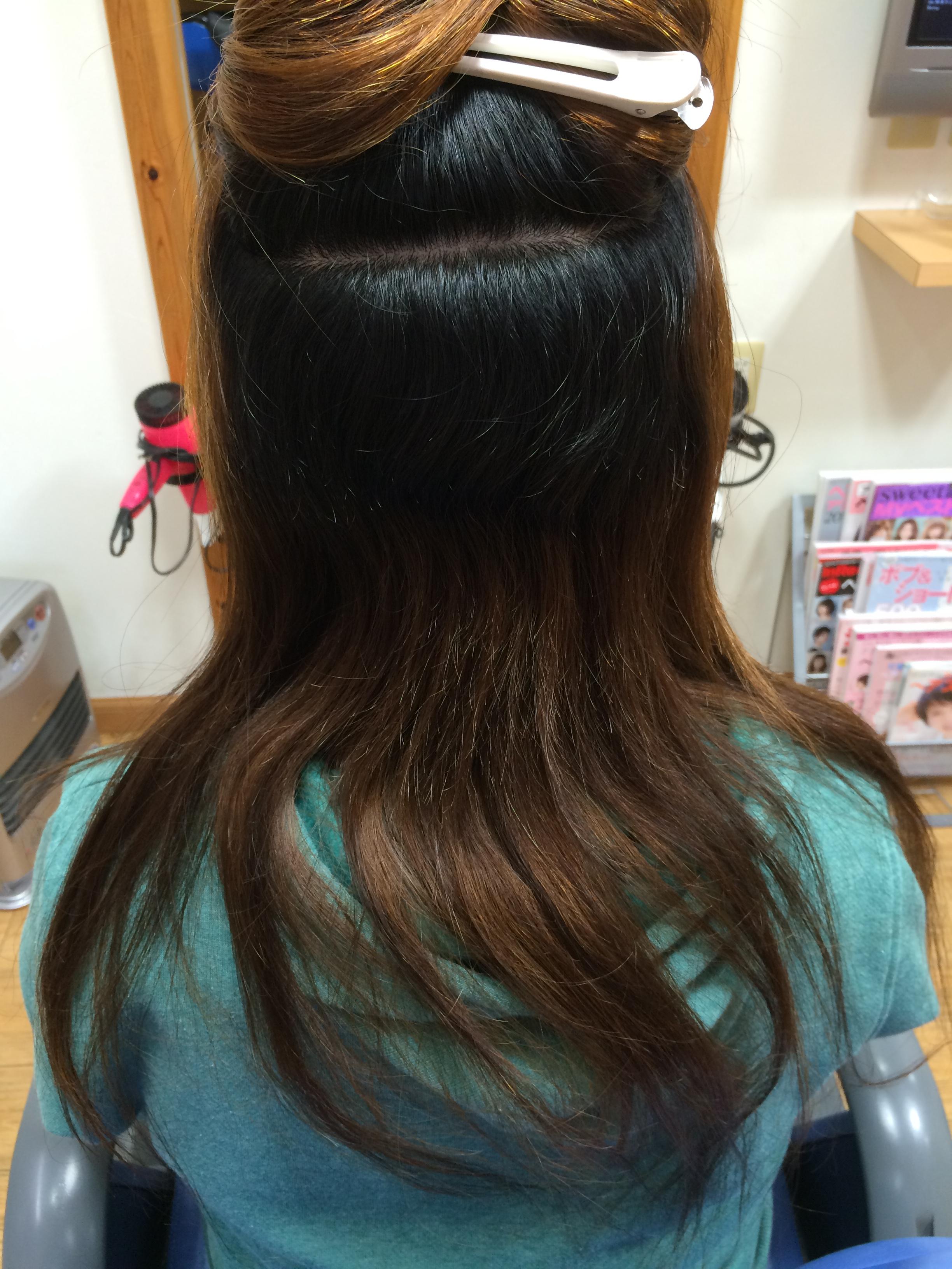 ビフォア 美しい髪になる縮毛矯正