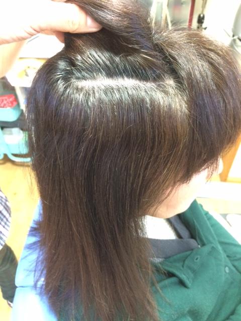 美髪になれる縮毛矯正 ビフォー