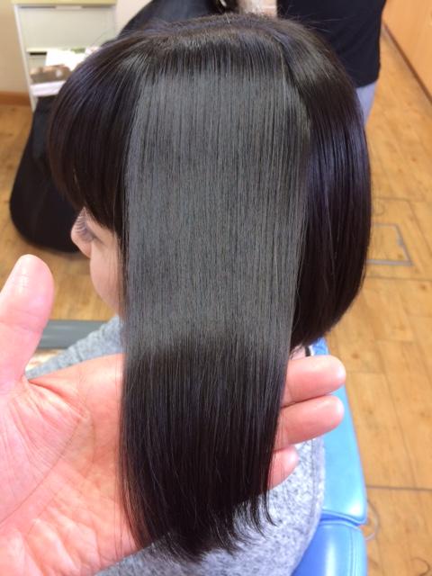 美しい髪になれる縮毛矯正