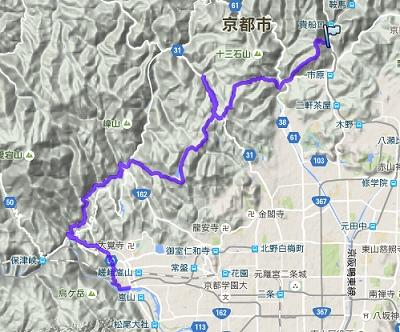 二ノ瀬~嵐山