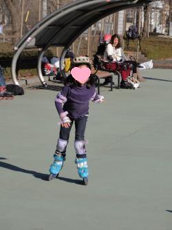 インラインスケート1