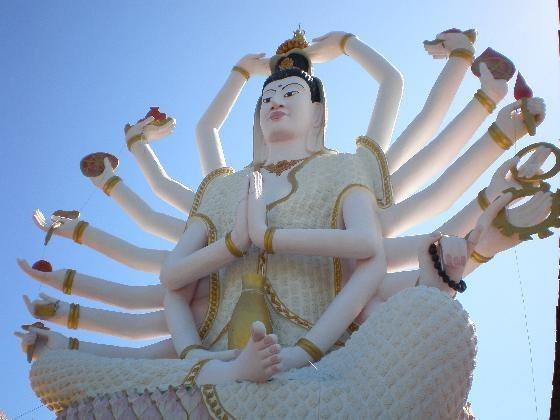 准胝観世音菩薩_Statue Of Eighteen Arms Buddha (2)