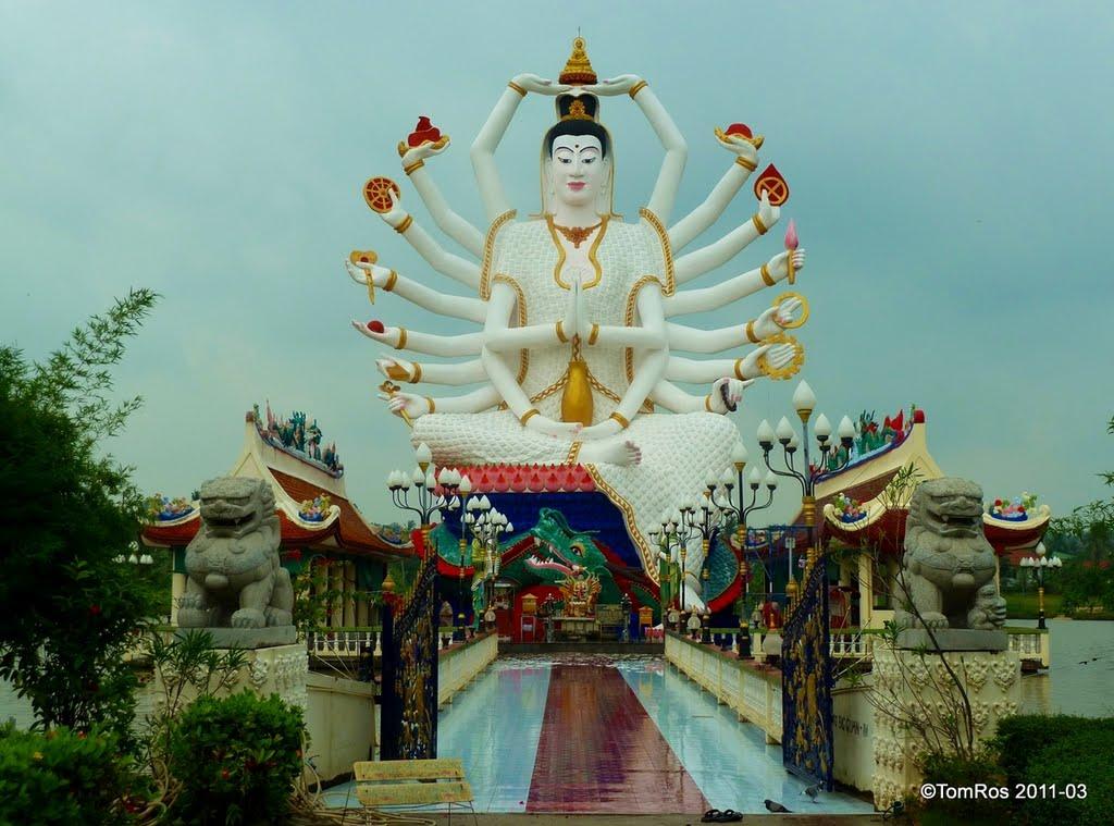 准胝観世音菩薩_Statue Of Eighteen Arms Buddha (3)