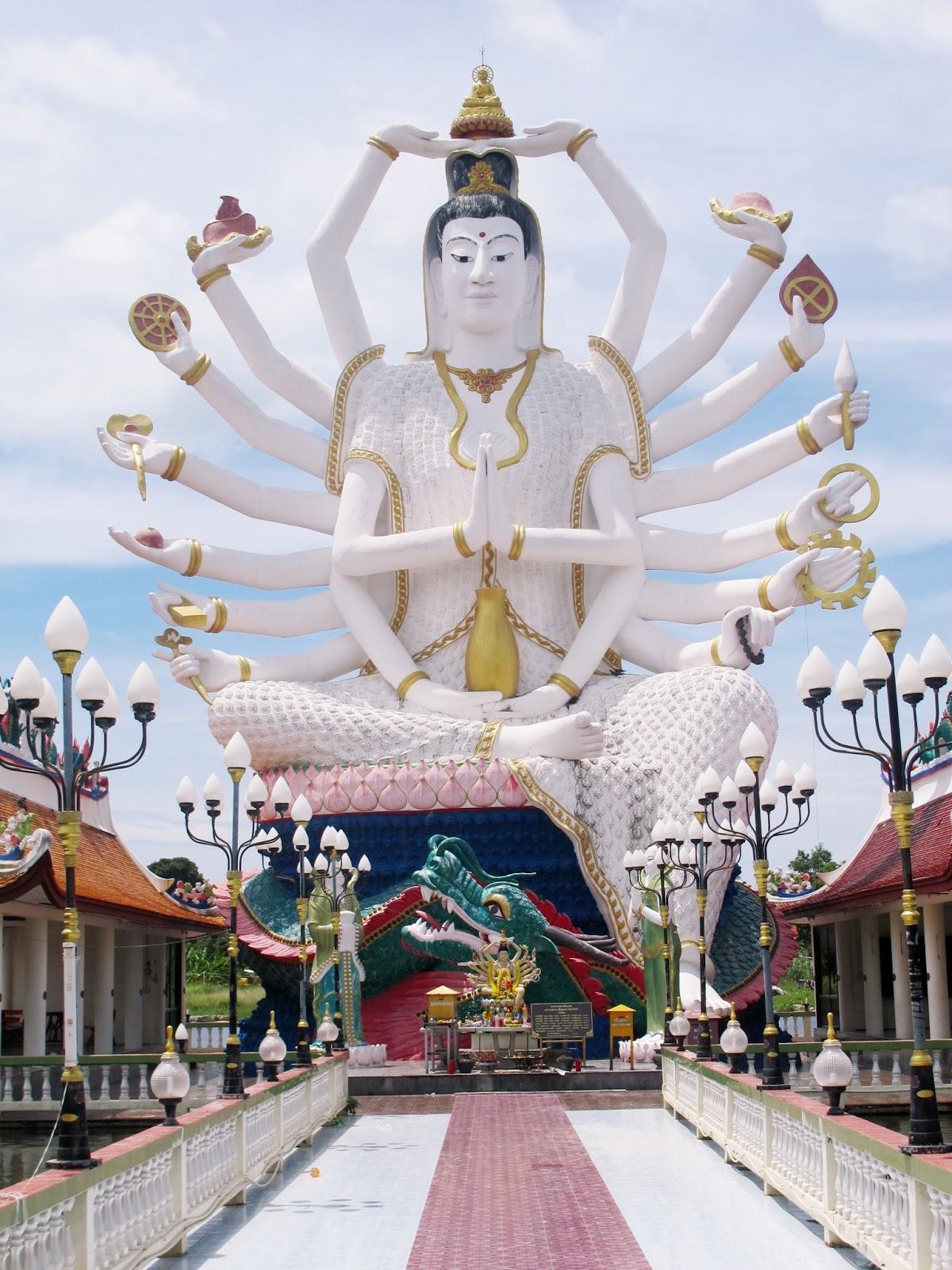 准胝観世音菩薩_Statue Of Eighteen Arms Buddha (7)